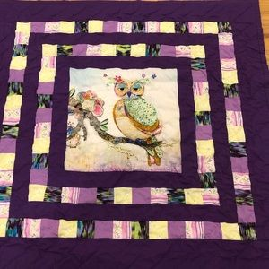 Handmade Baby Quilt!